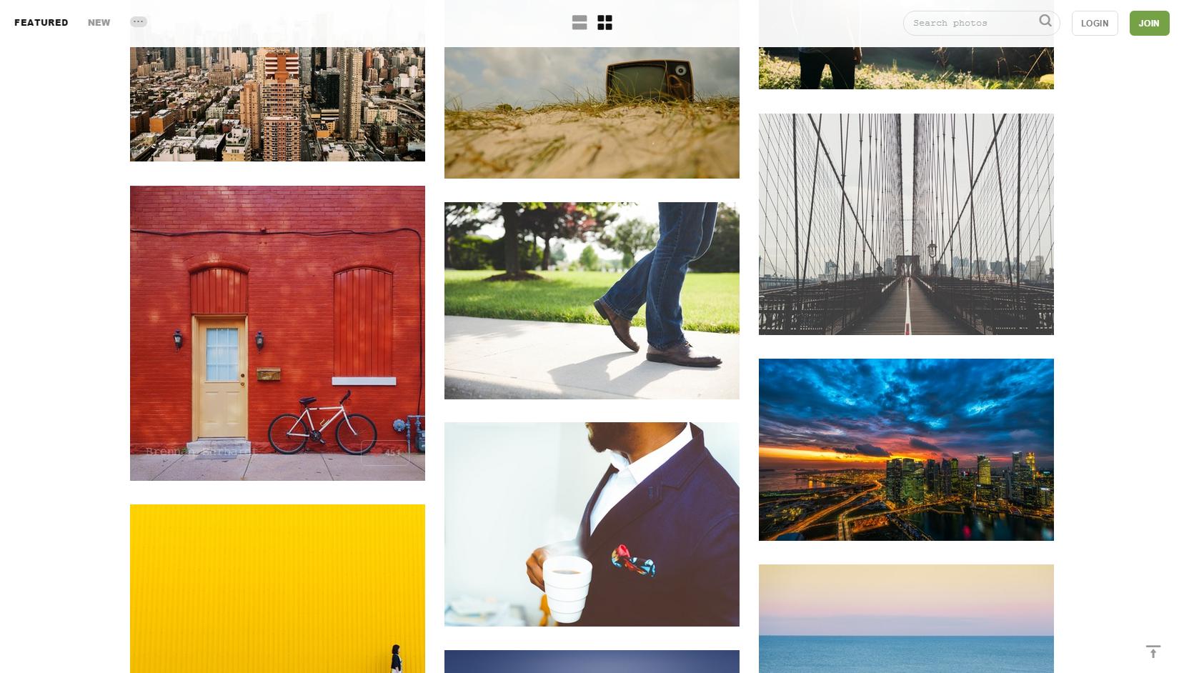 site photos libres de droits Unsplash