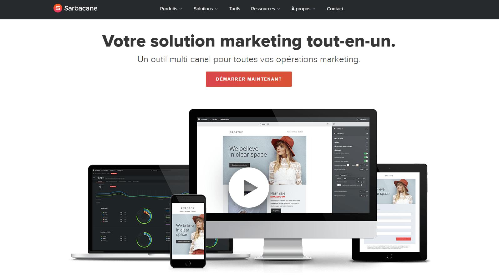 Sarbacane : une bonne alternative à mailchimp en français